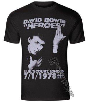 koszulka DAVID BOWIE - HEROES COURT