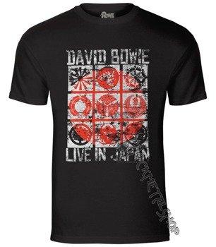 koszulka DAVID BOWIE - LIVE IN JAPAN
