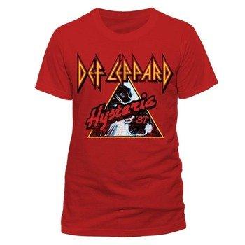 koszulka DEF LEPPARD - RED HYSTERIA