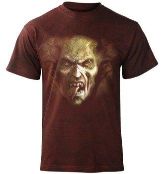 koszulka DEMON FACE barwiona