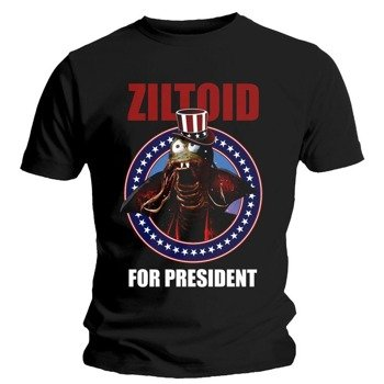 koszulka DEVIN TOWNSEND - ZILTOID FOR PRESIDENT