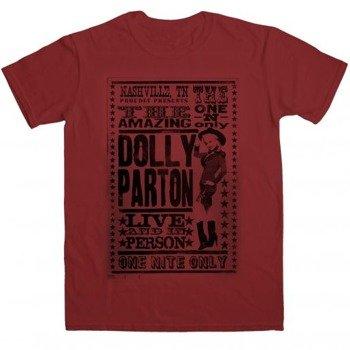 koszulka DOLLY PARTON - TOUR POSTER