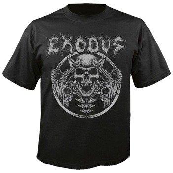 koszulka EXODUS - HORNS SKULL