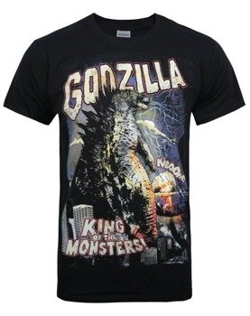 koszulka GODZILLA - RETRO POSTER