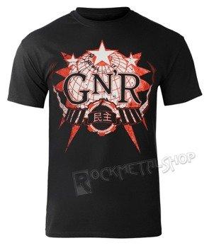 koszulka GUNS N' ROSES - GLOBE LOGO