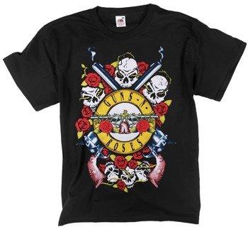 koszulka GUNS N' ROSES - SKULL
