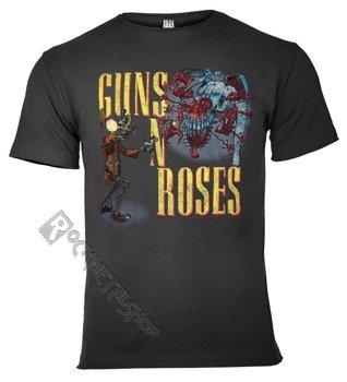 koszulka GUNS N' ROSES ciemnoszara