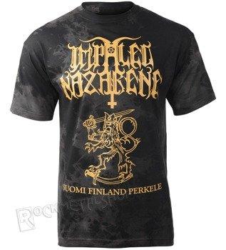 koszulka IMPALED NAZARENE - SUOMI FINLAND PERKELE barwiona