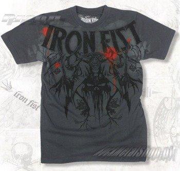koszulka IRON FIST - REAPING THE FIST (CHARCOAL) 09'