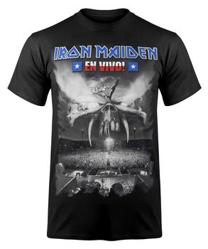 koszulka IRON MAIDEN - EN VIVO B&W COVER
