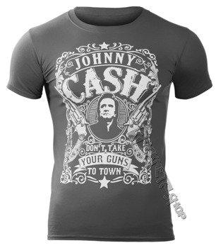 koszulka JOHNNY CASH - DON'T TAKE YOUR GUNS TO TOWN
