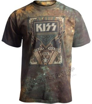 koszulka KISS - DETROIT ROCK CITY barwiona
