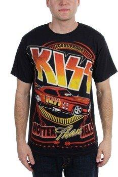 koszulka KISS - HOTTER CAR