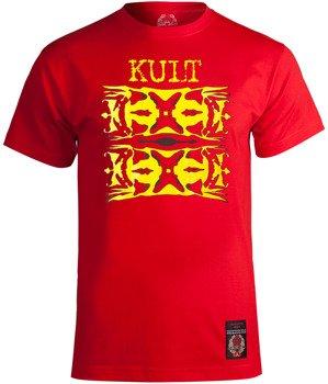 koszulka KULT - SPOKOJNIE czerwona