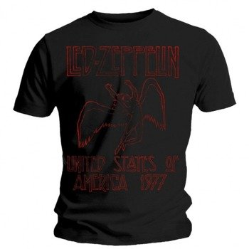 koszulka LED ZEPPELIN - RED SWAN SONG US 77