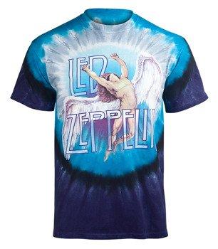 koszulka LED ZEPPELIN - SWAN SONG, barwiona