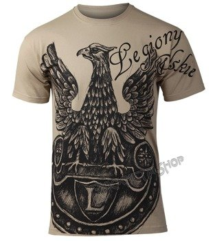 koszulka LEGIONY POLSKIE beżowy