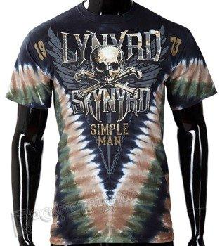 koszulka LYNYRD SKYNYRD - SIMPLE MAN, barwiona
