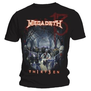 koszulka MEGADETH - GRAVEYARD