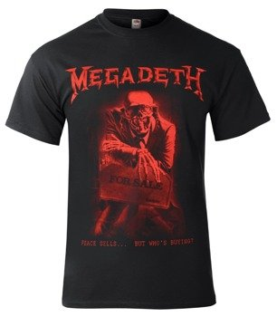 koszulka MEGADETH - PEACE SELLS... BUT WHO'S BUYING?