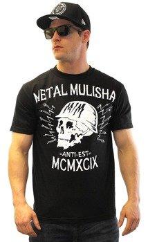 koszulka METAL MULISHA - BLACK HEAD czarna
