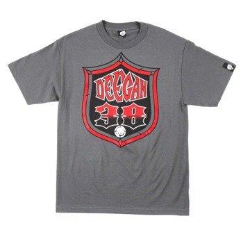 koszulka METAL MULISHA - DEEGAN SHIELD szara