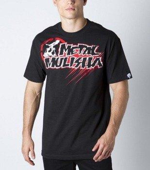 koszulka METAL MULISHA - DRAFT czarna