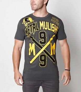 koszulka METAL MULISHA - INTERSECT szara