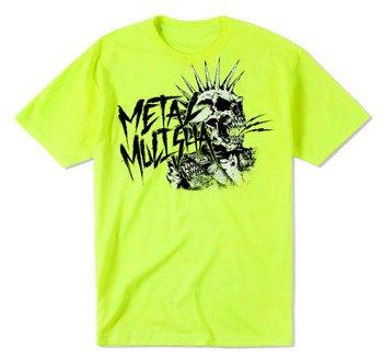 koszulka METAL MULISHA - PUNK neon green
