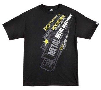 koszulka METAL MULISHA - ROCKSTAR TWO BY FOUR czarna