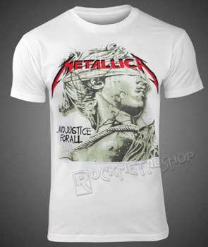 koszulka METALLICA - JUSTICE GREEN STATUE