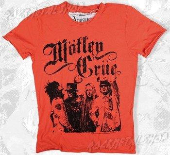 koszulka MOTLEY CRUE - STICKY SWEET kolor łososiowy