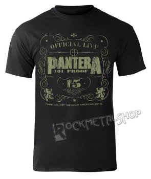 koszulka PANTERA - 101 PROOF