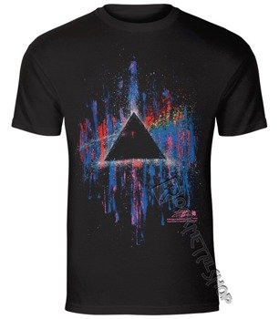 koszulka PINK FLOYD - DARK SIDE OF THE MOON PINK SPLATTER