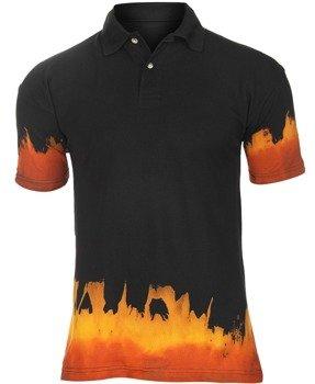 koszulka POLO - FIRE SKULL