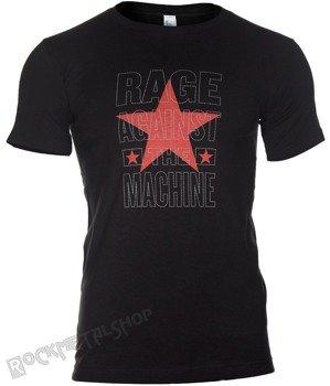 koszulka RAGE AGAINST THE MACHINE - STACKED STAR