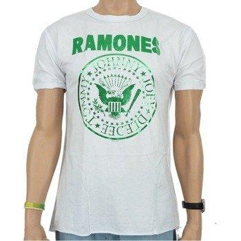 koszulka RAMONES - LOGO biała