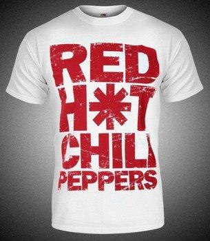 koszulka RED HOT CHILI PEPPERS biała