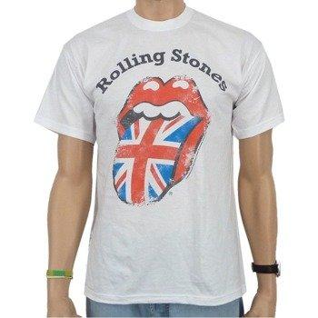 koszulka ROLLING STONES - DISTRESSED UNION JACK