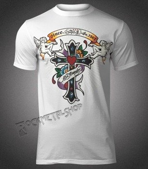 koszulka SHIROI NEKO - CROSS STUD (WHITE)