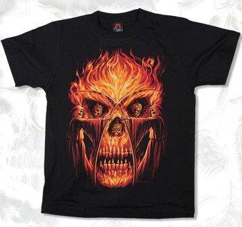 koszulka SKULL IN FLAMES