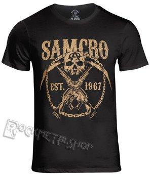 koszulka SONS OF ANARCHY - SAMCRO CHAINED czarna