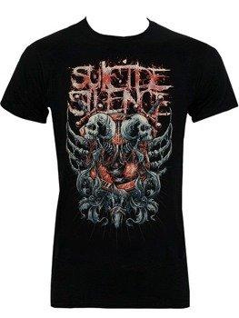 koszulka SUICIDE SILENCE - DOUBLE SKULL