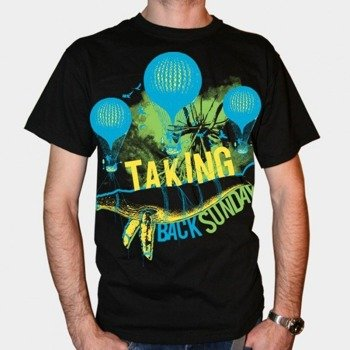 koszulka TAKING BACK SUNDAY - HOT WHALE BALLOON (BLACK)