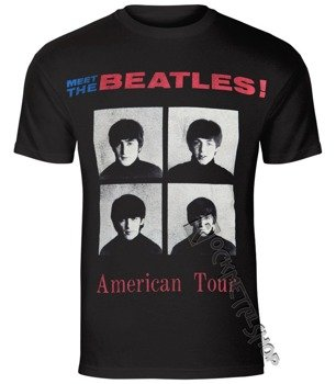 koszulka THE BEATLES - AMERICAN TOUR 1964