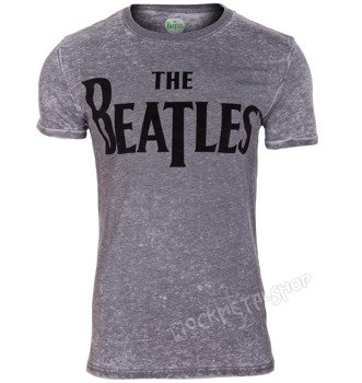 koszulka THE BEATLES - DROP T BURNOUT