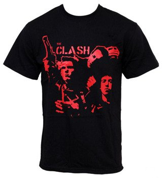 koszulka THE CLASH - BAND GUN