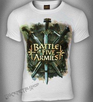 koszulka THE HOBBIT - BATTLE OF FIVE ARMI