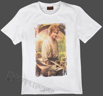 koszulka THE HOBBIT - BILBO biała