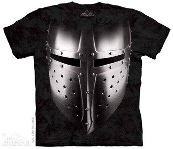 koszulka THE MOUNTAIN - BIG FACE ARMOR, barwiona